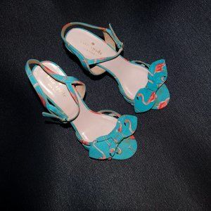 Kate Spade Flamingo Heels